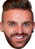 Aaron Chalmers Tv Stars 2015 Celebrity Face Mask