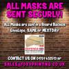 Tony O'shea 2 Darts Face Mask