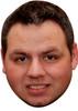 Adrian Lewis Darts Face Mask