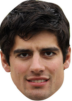 Alistair Cook Celebrity Face Mask