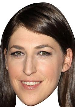 Amy Big Bang Theory Celebrity Face Mask
