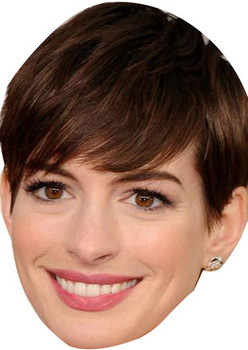 Anne Hathaway Celebrity Face Mask