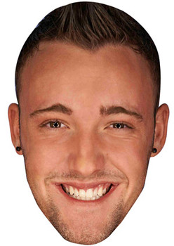 Daniel Thomas Tuck Geordie Shore Celebrity Face Mask