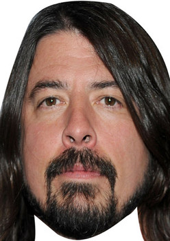 Dave Grohl Celebrity Face Mask