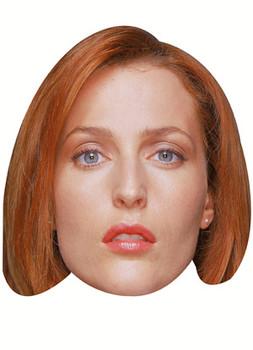 Gillian Anderson Celebrity Face Mask