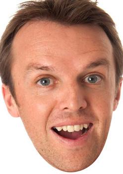 Graeme Swann Celebrity Face Mask