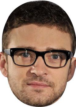 Justin Timberlake2 Celebrity Face Mask