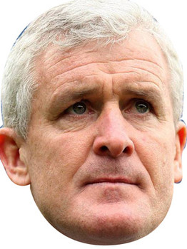 Mark Hughes Celebrity Face Mask