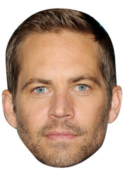 Paul Walker Celebrity Face Mask