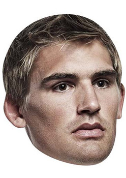 Toby Flood Celebrity Face Mask