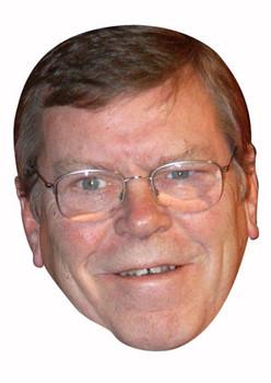 Warren Clarke Celebrity Face Mask