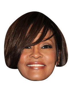 Whitney-Houston Celebrity Face Mask