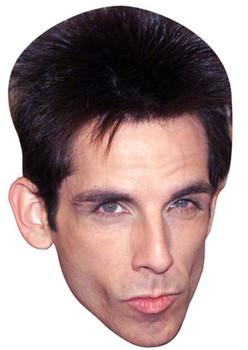 Ben Stiller Blue Steel Pose Celebrity Face Mask