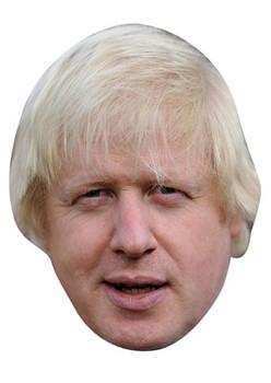 Boris Johnson 2013 Celebrity Face Mask