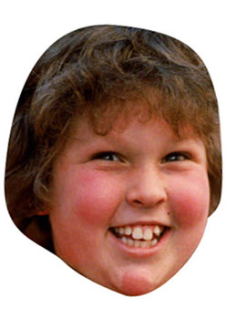 Chunk  The Goonies Celebrity Face Mask