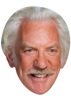 Donald Sutherland Celebrity Face Mask