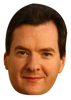 George Osborne Celebrity Face Mask