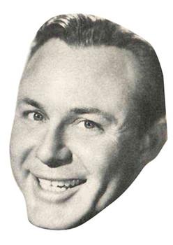 Jim Reeves Celebrity Face Mask
