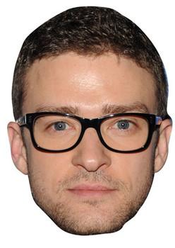 Justin Timberlake Celebrity Face Mask