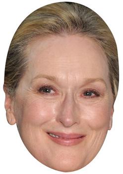 Meryl Streep Celebrity Face Mask