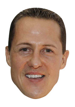 Michael Schumacher New Celebrity Face Mask