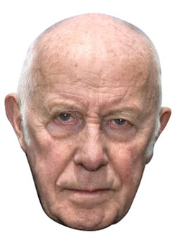 Richard Wilson Victor Meldrew Celebrity Face Mask
