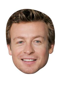 Simon Baker Celebrity Face Mask