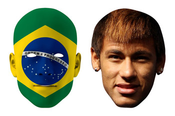 Brazil World Cup Face Mask Pack