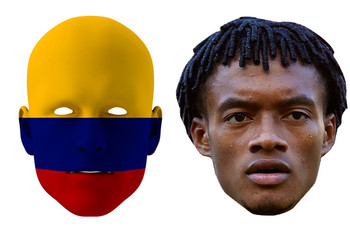 Colombia World Cup Face Mask Pack