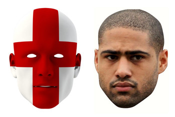England World Cup Face Mask Pack Johnson