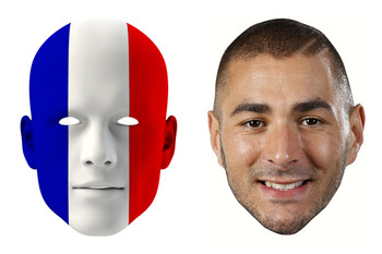 France World Cup Face Mask Pack Benzema