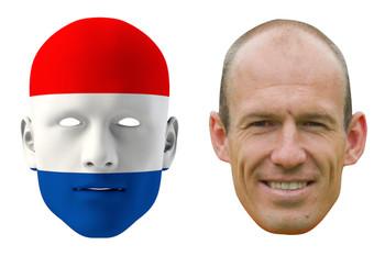Netherlands World Cup Face Mask Pack Robben