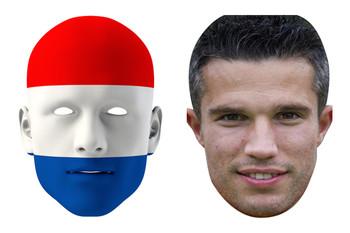 Netherlands World Cup Face Mask Pack Van Persie
