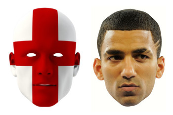 England World Cup Face Mask Pack Lennon