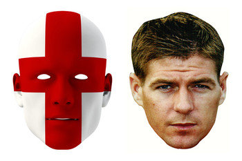 England World Cup Face Mask Pack Gerrard
