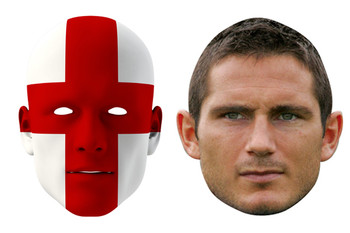 England World Cup Face Mask Pack Lampard