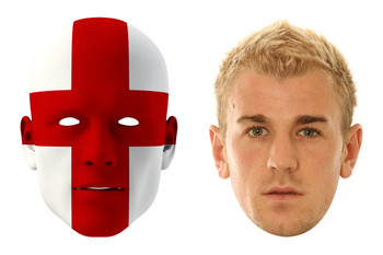 England World Cup Face Mask Pack Hart