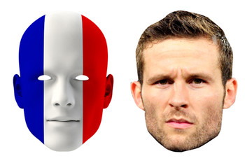 France World Cup Face Mask Pack Cabaye