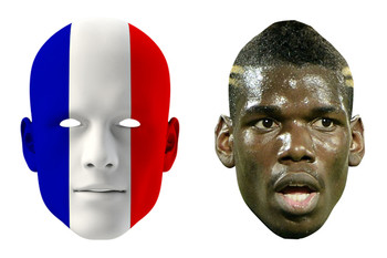 France World Cup Face Mask Pack Pogba