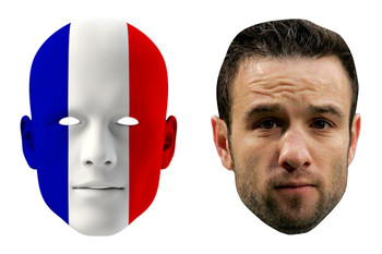 France World Cup Face Mask Pack Valbuena