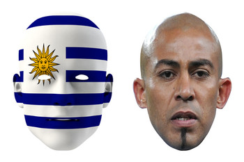 Uruguay World Cup Face Mask Pack Arevalo