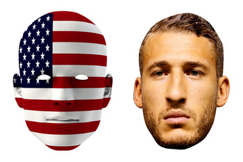 United States World Cup Face Mask Pack Fabian Johnson