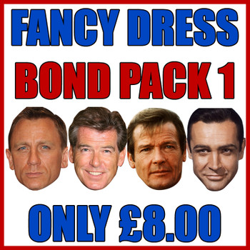 Bond Pack 1 Fancy Dress