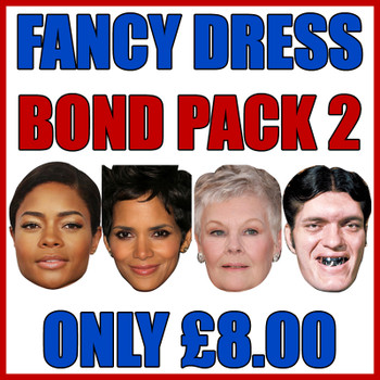 Bond Pack 2 Fancy Dress