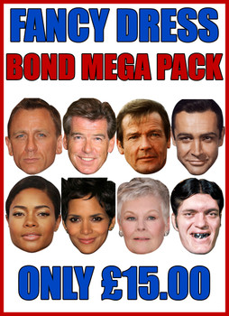 Bond Pack Mega Pack Fancy Dress