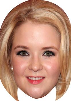Lorna Fitzgerald Aka Abbi Branning 2015 Celebrity Face Mask