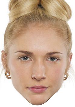 Nancy Carter 2015 Celebrity Face Mask