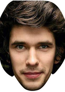 Ben Whishaw Bond 2015 Celebrity Face Mask