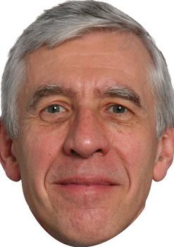 Jack Straw Politicians 2015 Celebrity Face Mask