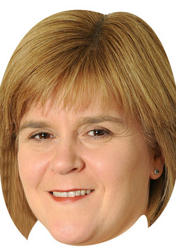Nicola Sturgeon Politicians 2015 Celebrity Face Mask